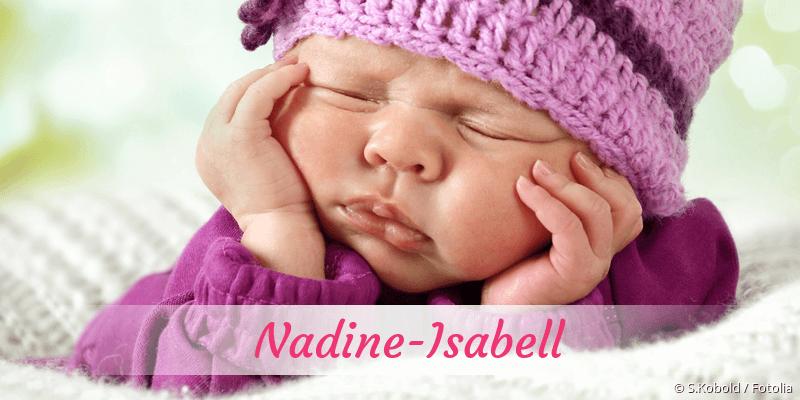 Name Nadine-Isabell als Bild