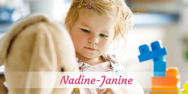 Name Nadine-Janine als Bild