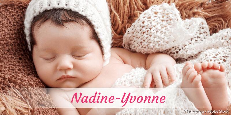 Name Nadine-Yvonne als Bild