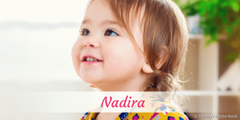 Name Nadira als Bild