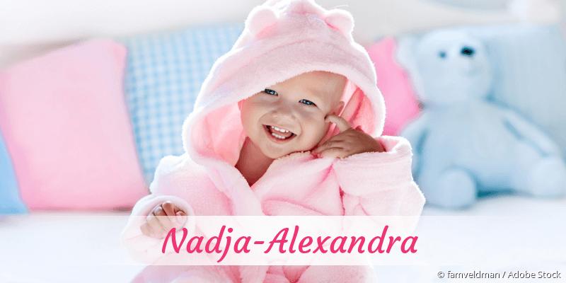Name Nadja-Alexandra als Bild