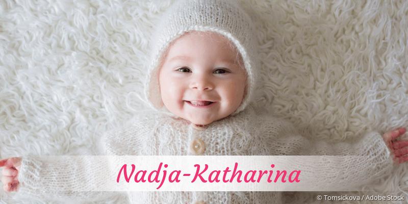 Name Nadja-Katharina als Bild