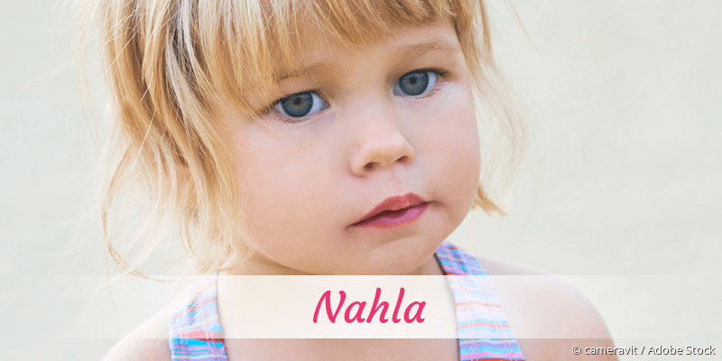 Name Nahla als Bild
