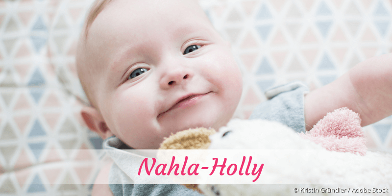 Name Nahla-Holly als Bild