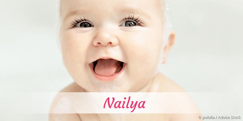 Name Nailya als Bild