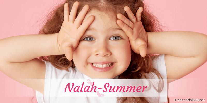 Name Nalah-Summer als Bild