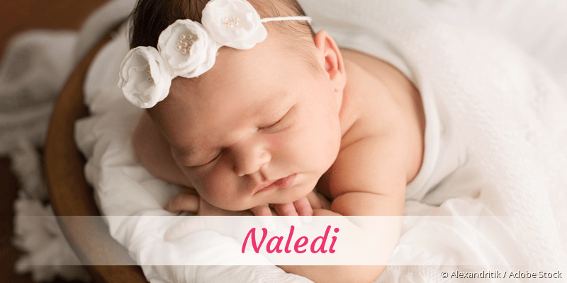 Name Naledi als Bild