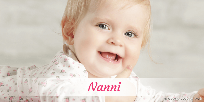 Name Nanni als Bild