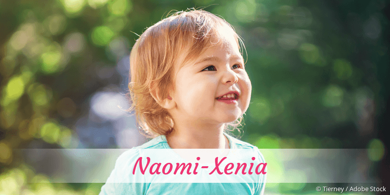 Name Naomi-Xenia als Bild