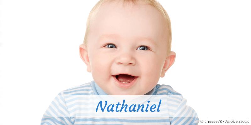 Name Nathaniel als Bild