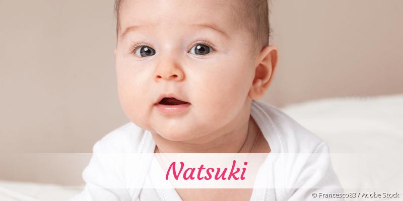 Name Natsuki als Bild