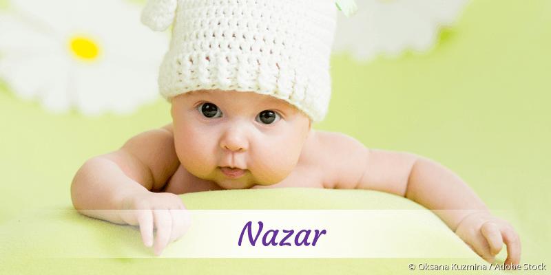 Name Nazar als Bild