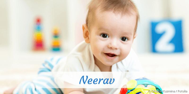 Name Neerav als Bild