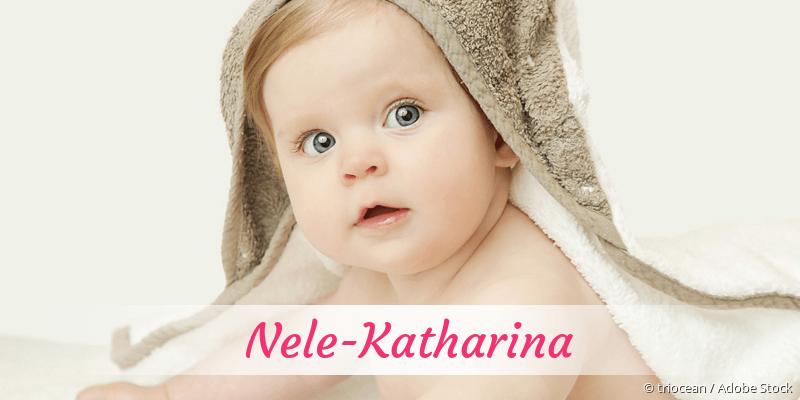 Name Nele-Katharina als Bild