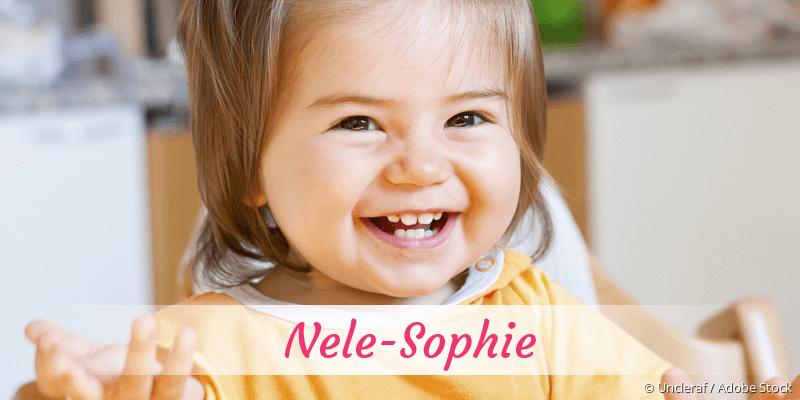 Name Nele-Sophie als Bild