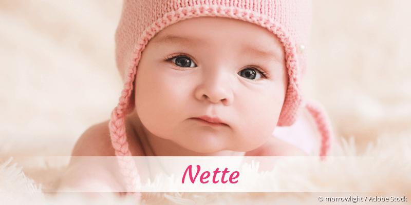 Name Nette als Bild
