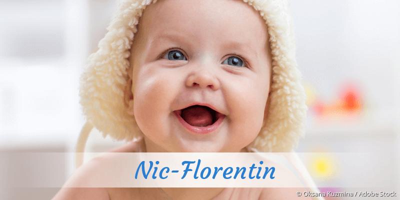 Name Nic-Florentin als Bild