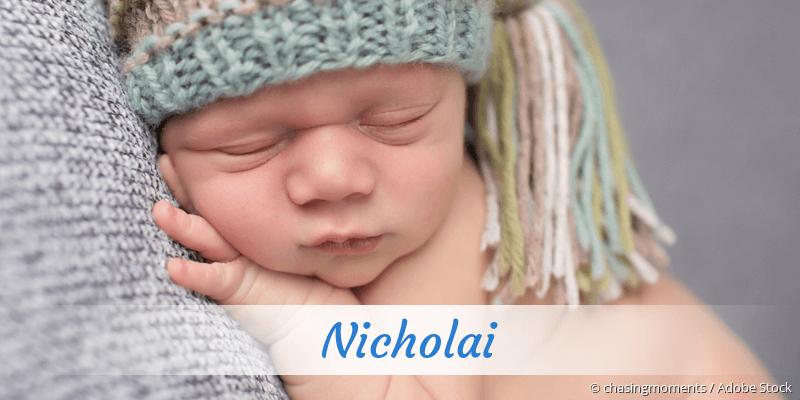 Name Nicholai als Bild