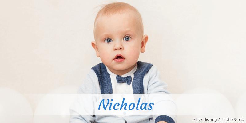 Name Nicholas als Bild