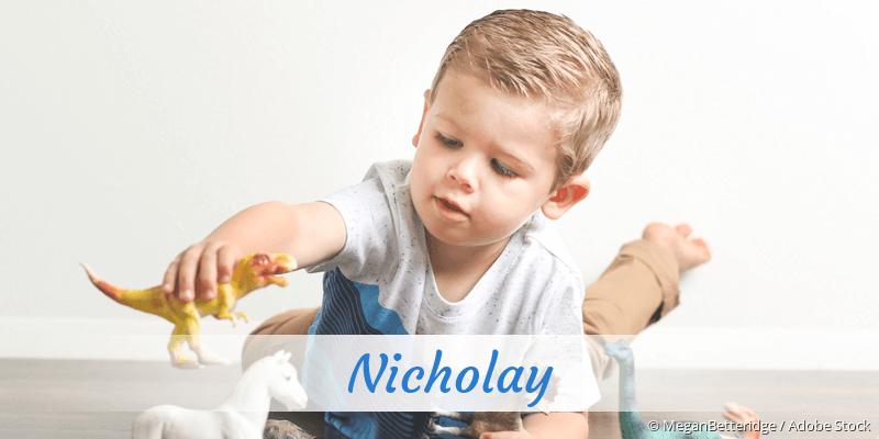 Name Nicholay als Bild