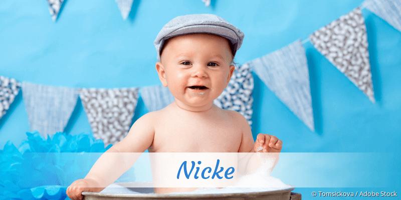 Name Nicke als Bild