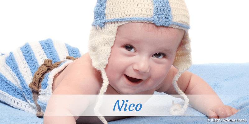 Name Nico als Bild