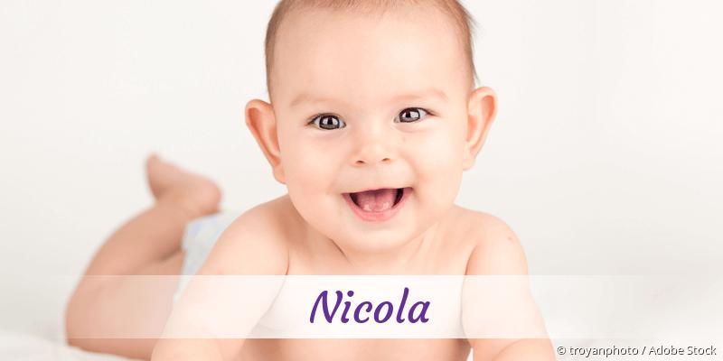 Name Nicola als Bild