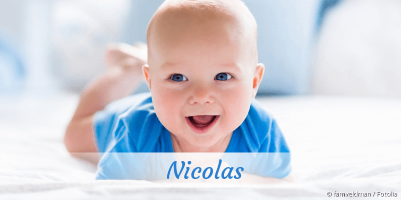 Name Nicolas als Bild