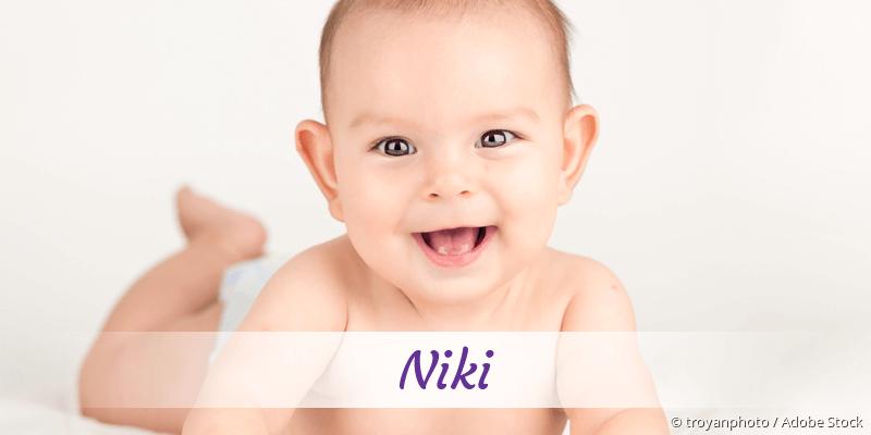 Name Niki als Bild
