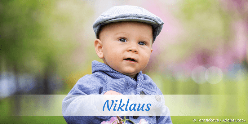 Name Niklaus als Bild
