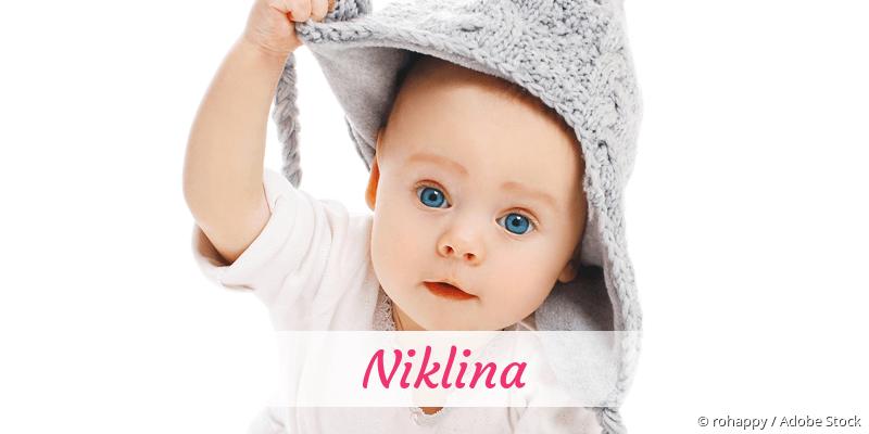 Name Niklina als Bild