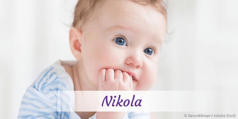 Name Nikola als Bild