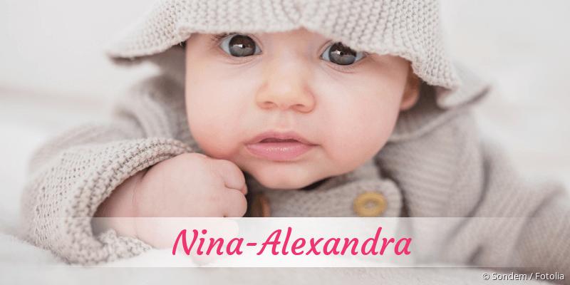 Name Nina-Alexandra als Bild