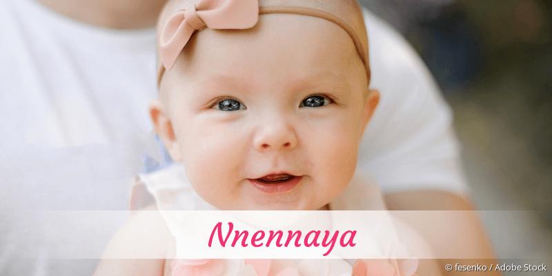 Name Nnennaya als Bild