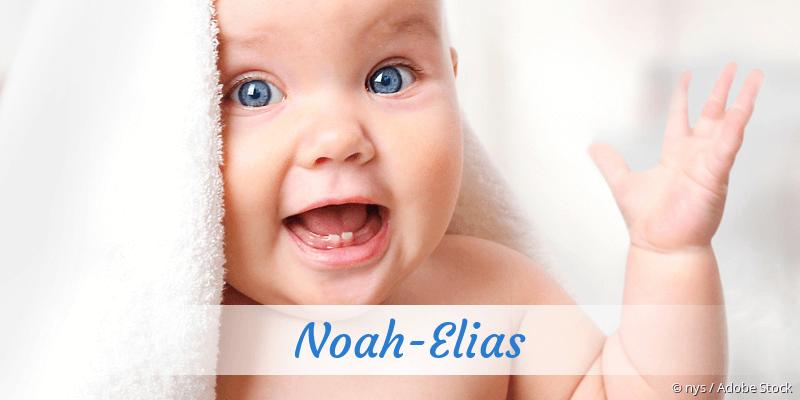 Name Noah-Elias als Bild
