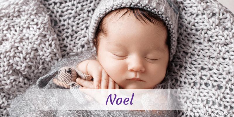 Name Noel als Bild