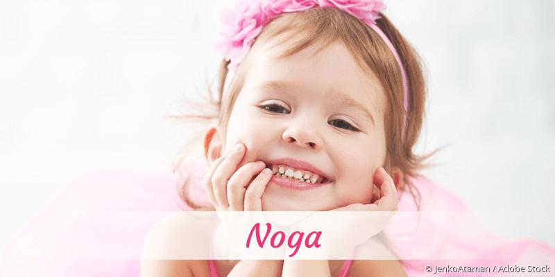 Name Noga als Bild