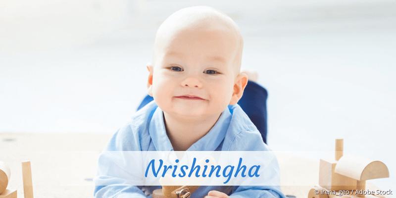 Name Nrishingha als Bild