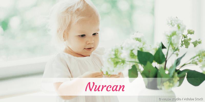 Name Nurcan als Bild