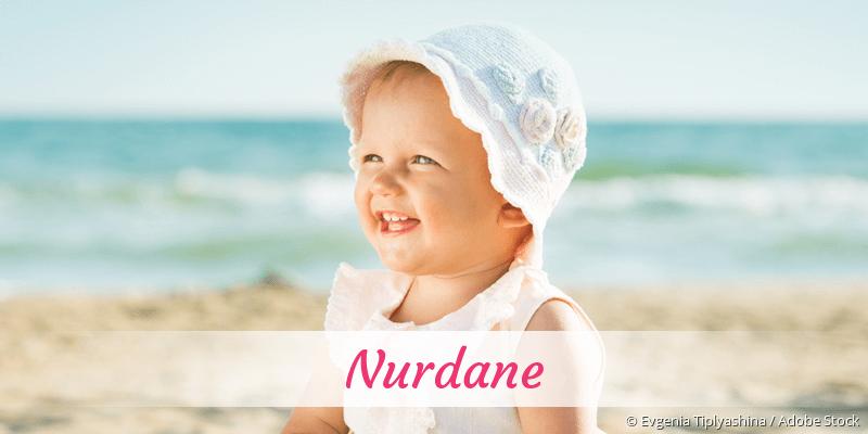 Name Nurdane als Bild
