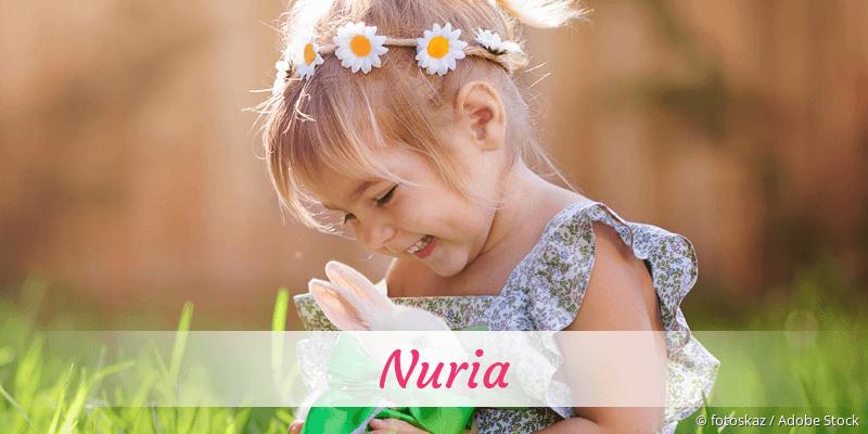Name Nuria als Bild