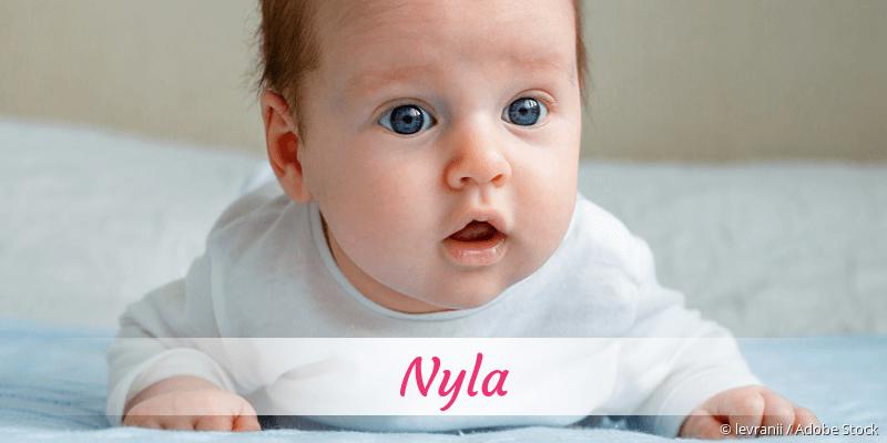 Name Nyla als Bild
