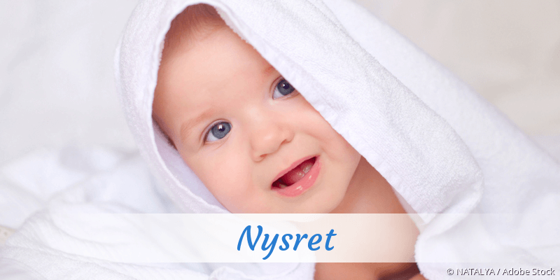 Name Nysret als Bild