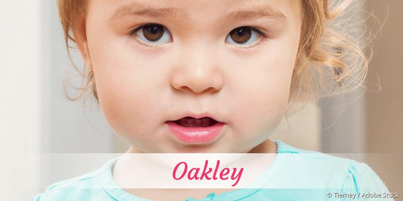 Name Oakley als Bild