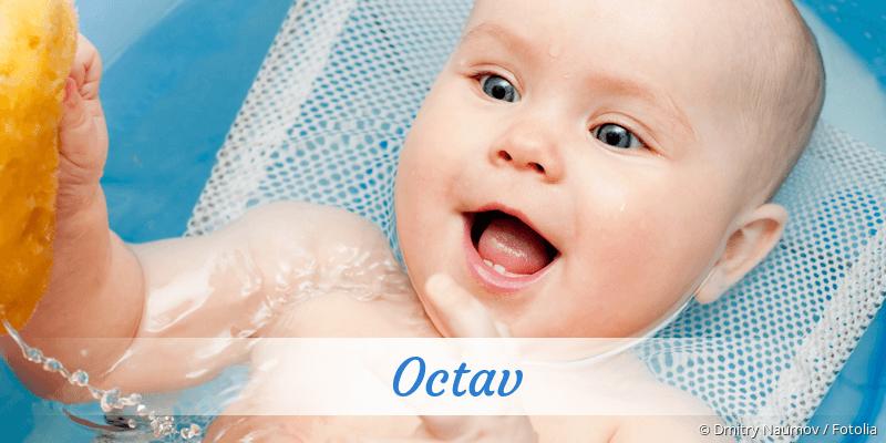 Name Octav als Bild