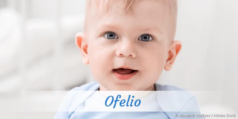 Name Ofelio als Bild