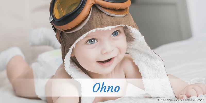 Name Ohno als Bild