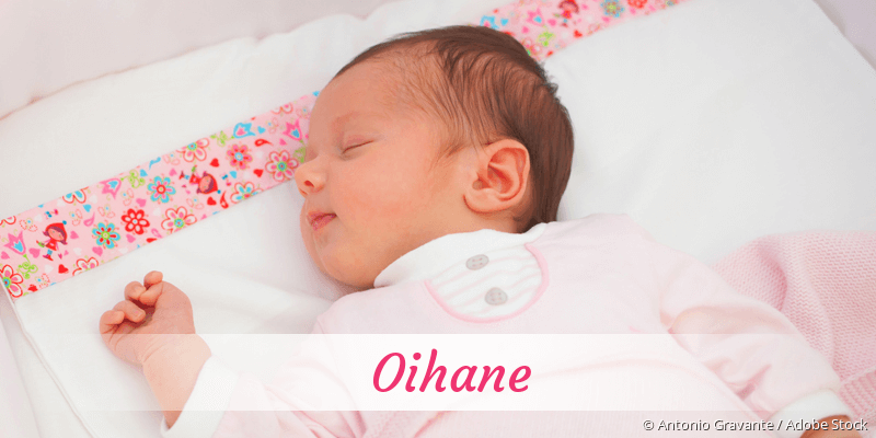 Name Oihane als Bild