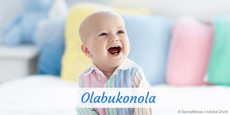 Name Olabukonola als Bild