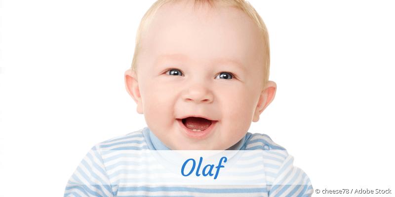 Name Olaf als Bild